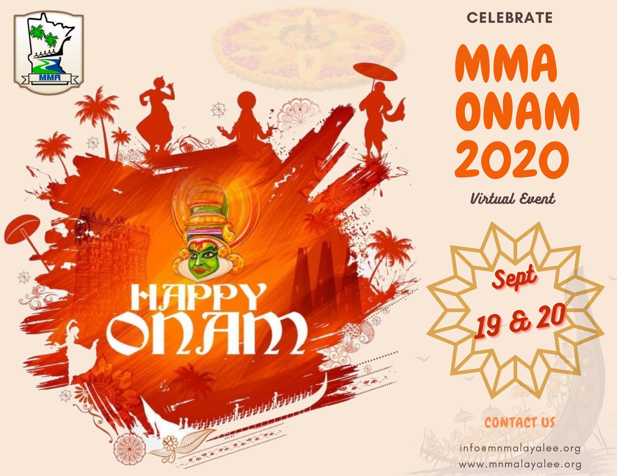 MMA 2020 Onam Site Banner